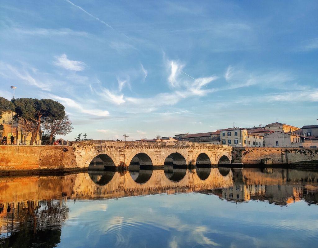 10 Cose da Vedere a Rimini -Rimini Ponte di Tiberio
