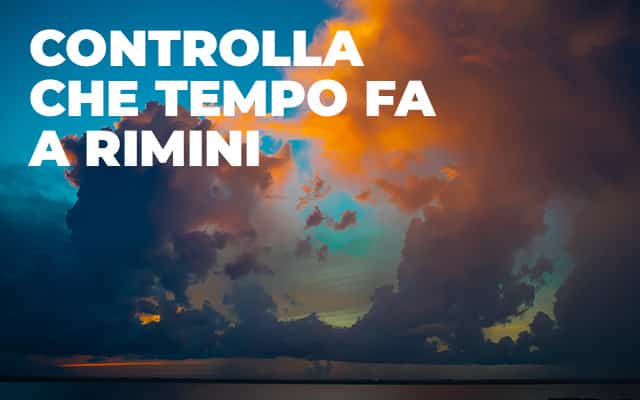 Che tempo fa a Rimini