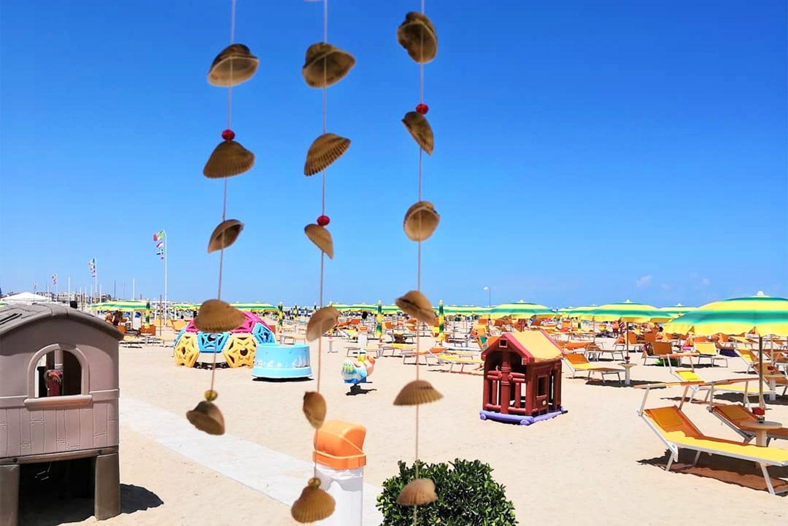 Servizi Bagno Riviera 1 Rivabella - giochi bambini