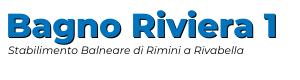 Logo Bagno Riviera 1 di Rivabella