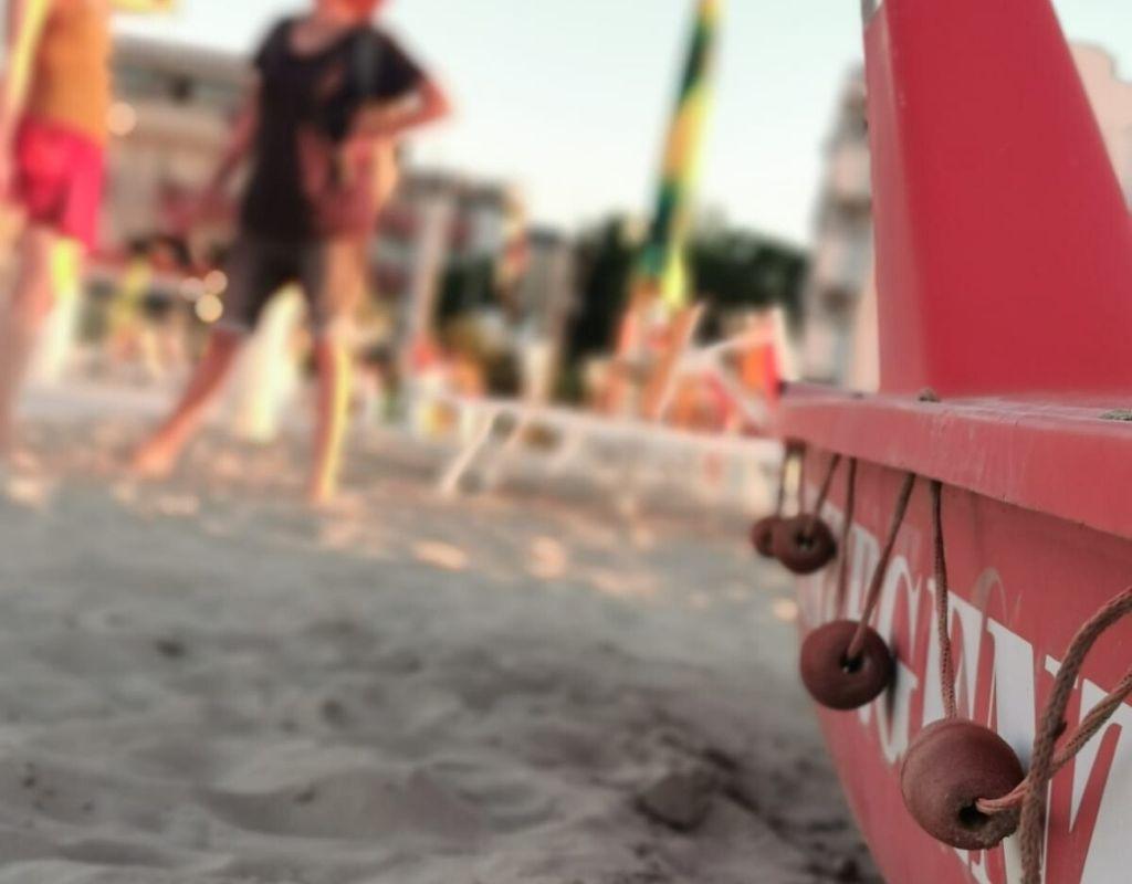 Bagno Riviera 1 Rimini a Rivabella (2) - spiaggia